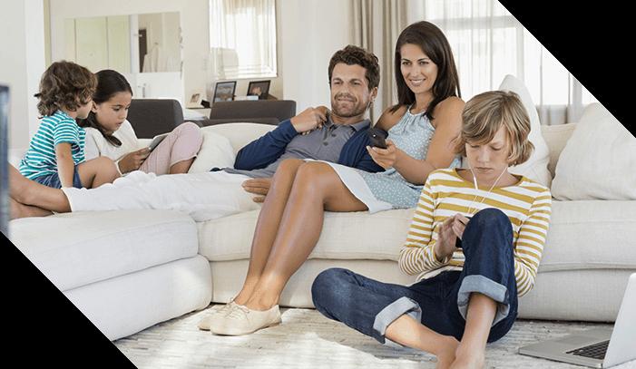 Antivirus og databeskyttelse for hele familie